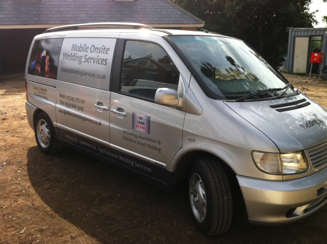 Mobile onsite welding services London, Cambridge, Bedford and surounding areas